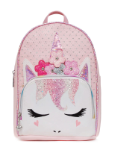 OM - MB60 Perforated Flower Crown Mini Backpack-pink