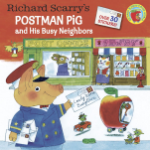 PR - 384193 Richard Scarry's Postman Pig and His Busy Neighbors