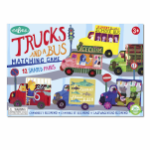 EB-MGTRU Trucks and a Bus Memory and Matching Game