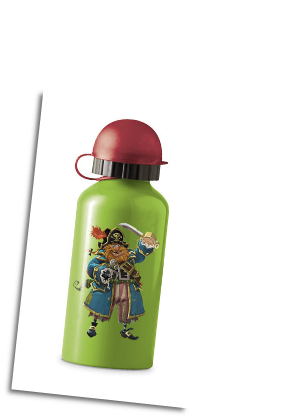 CR1038-9 Pirate Drinking Bottle