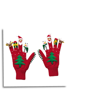 Ki-00524 Christmas Gloves