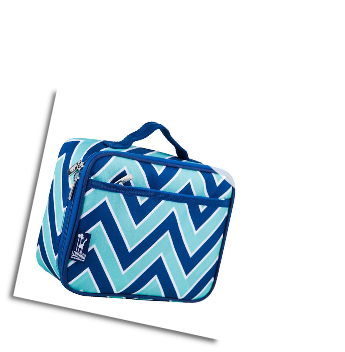 WK33551 Chevron Seabreeze Lunch Box