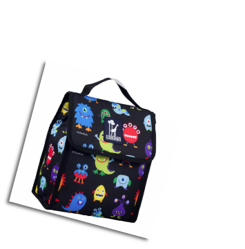 WK55600 Olive Kids Monsters Munch n Lunch Bag