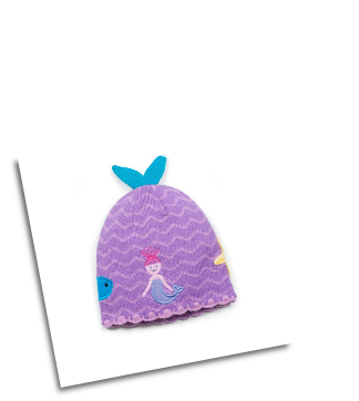 Ki-00614 Mermaid Knit Hat