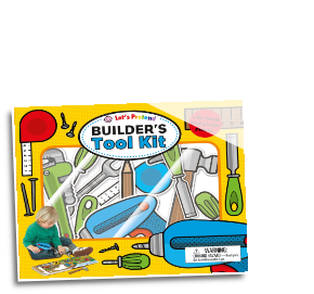MPS - 504908 Let's Pretend Builders Tool Kit Book/Puzzle