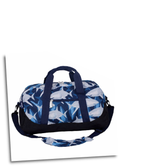 WK25700 Sharks Duffel Bag