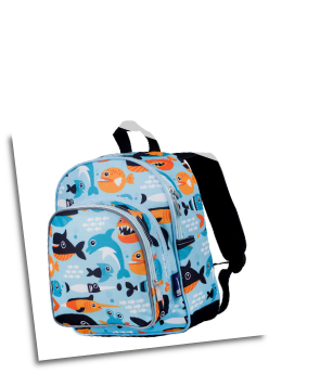 WK40603 Big Fish Pack n Snack Backpack