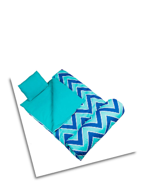 WK17551 Chevron Seabreeze Sleeping Bag