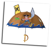 Ki-00315 Pirate Umbrella