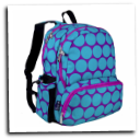 WK79119 Big Ddot Aqua Megapak Backpack