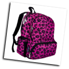 WK79214 Pink Leopard Megapak Backpack