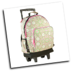 WK44114 Majestic High Roller Rolling Backpack