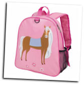 WK20696 Olive Kids Horse Embroidered Backpack