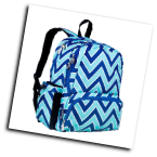 WK79551 Chevron Seabreeze Megapak Backpack