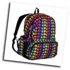 WK79701 Rainbow Hearts Megapak Backpack