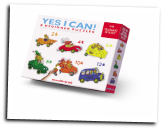 CC-77009 Yes I Can! Cars & Truck Puzzles