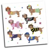 FR - 37P3049 Pets Magnetic Dress Up Character Dogs