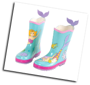 Ki-00214 Mermaid Rain Boots