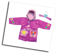 Ki-00104 Butterfly Raincoat